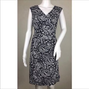 Tommy Hilfiger Sleeveless Wrap Dress Size L